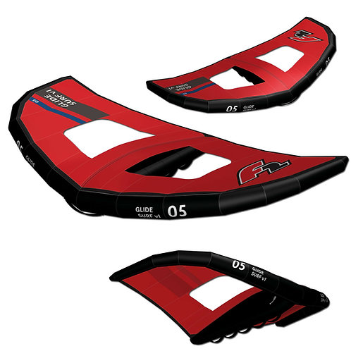 F2 Wing Sail Glide Surf (Red) 5.0