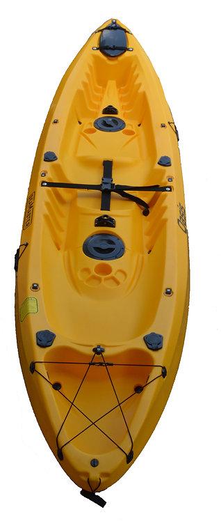 Double Kayak Oasis 370 x 80 x 35 - 32kg (2 adults 1 kid)