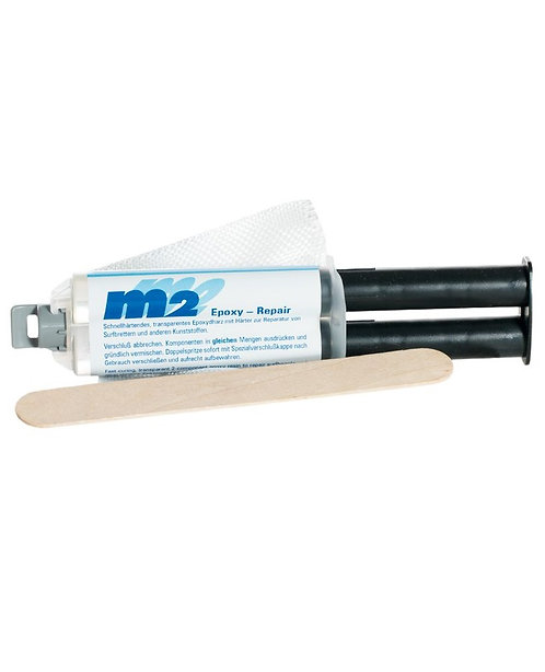 M2 Board Epoxy Repair Set (windsurf, surfboards, stand up paddles) 24gr