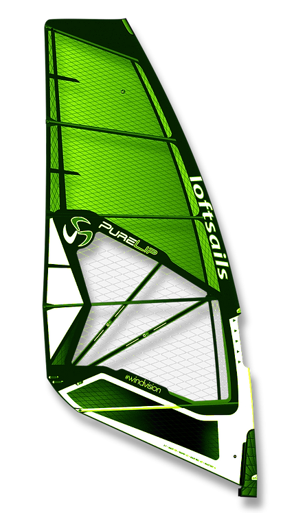 Loftsails Windsurf Sail Purelip 2021 Green
