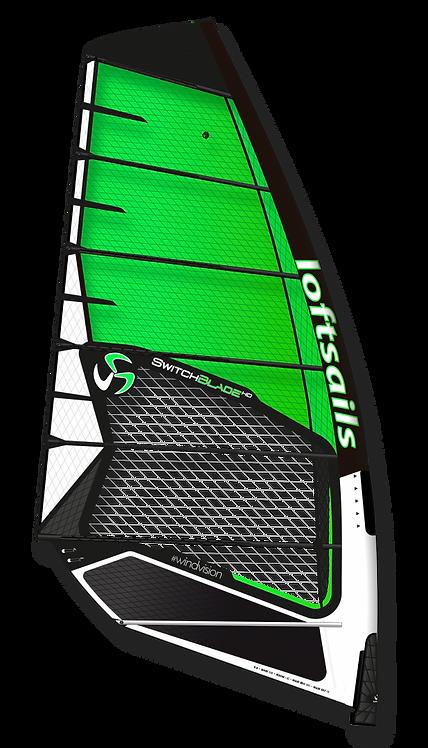Loftsails Windsurf Sail Switchblade 2021 Green HD