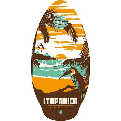 Skimboard SLIDZ 41 105cm Itaparica Orange-Aqua