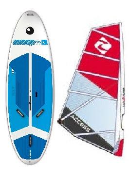Complete School Windsurf Bic Board 225L & Access Monofilm Rig