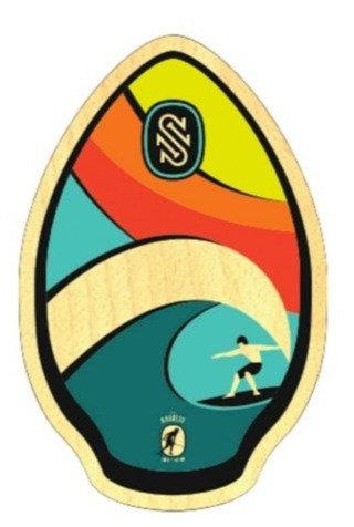 SkimOne Skimboard 30 76cm Kauai Rainbow