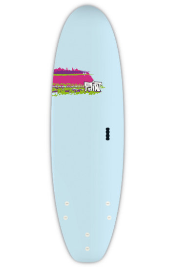 "Surf Board 6'0"" Bic Surf PAINT Shortboard"