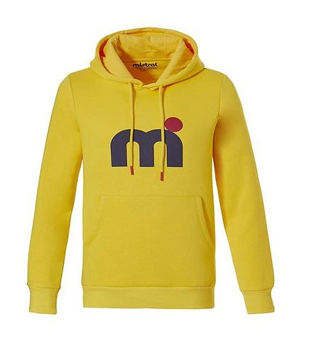 Mistral Classic Soft Touch Hoody Yellow