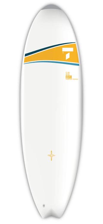 Tahe Surf Board Dura-Tec 5'10'' Fish