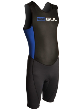 Gul Wetsuit Response Short John 3/2mm Back Zip Black/Blue