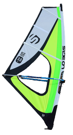 Side On Windsurf Dacron/Maylar Sail EZ Ride 1.0 m2