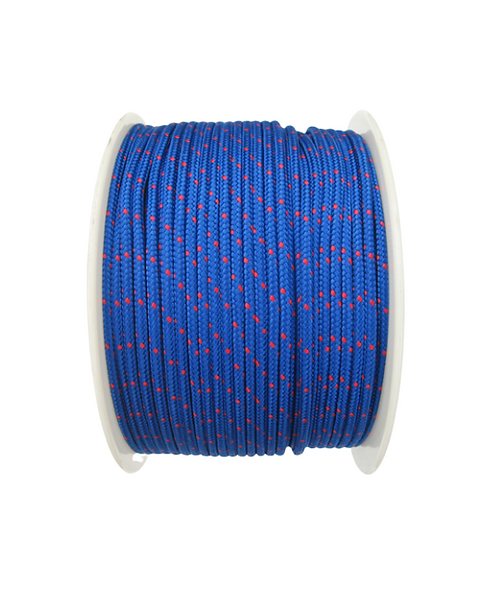 Rope PLAM Italy Polypropylene 6mm 16 Braid Breaking Load 650kg (Price Per Meter)
