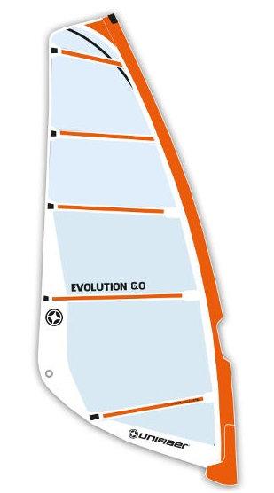 Unifiber Evolution Windsurf Sail Monofilm Freeride 6.0m2