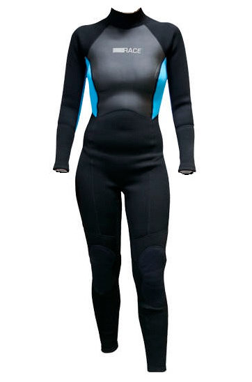 Pro Race Wetsuit Full Ladies 3/2 mm Back Zip