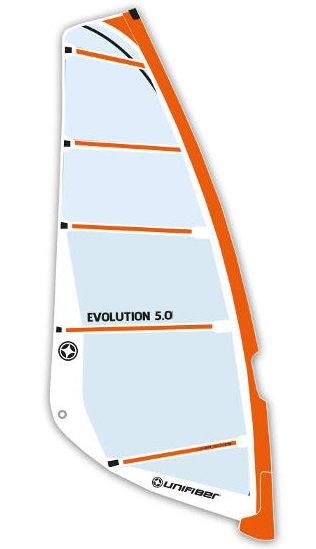 Unifiber Evolution Windsurf Sail Monofilm Freeride 5.0m2