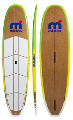 Mistral Sunburst SUP & WindSUP Board - Bamboo/GRP 10'5'' mod.2020