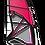 Thumbnail: Loftsails Windsurf Sail Wavescape 2021 Fuchsia