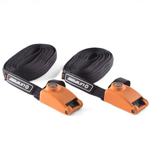 Unifiber Lockable Steel Reinforced Tie-Down Straps 5m x 24mm (Set)