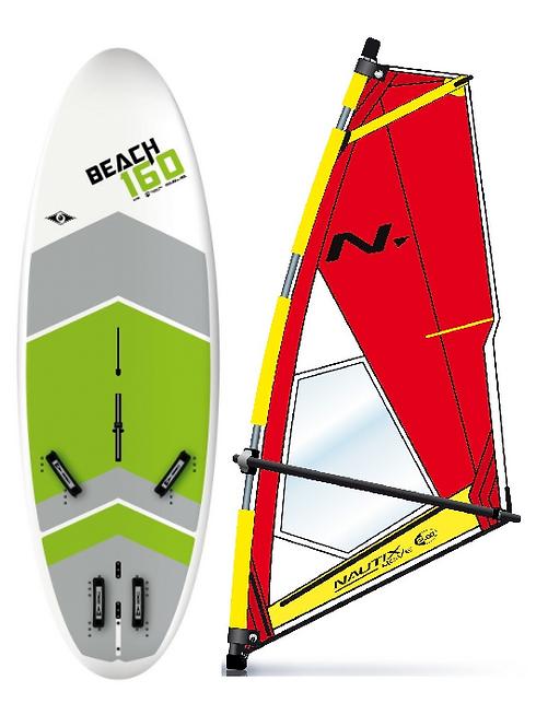 Complete School Windsurf Bic Board 160L &a NX Dacron Rig
