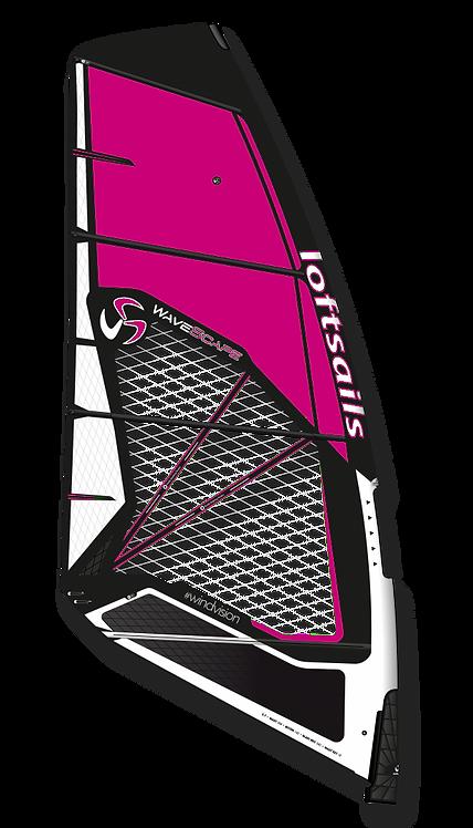 Loftsails Windsurf Sail Wavescape 2021 Fuchsia