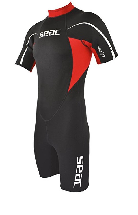 Seac Wetsuit Relax Shorty Man 2.2 mm Back Zip