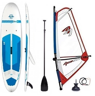 Complete Wind-SUP 215 L 11'6'' Rig 1.5 m2 - 3.5 m2