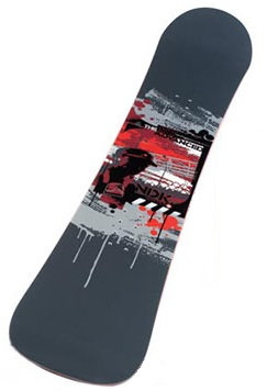 Nidecker 'NDK Advanced' 165 Freeride Snowboard Deck