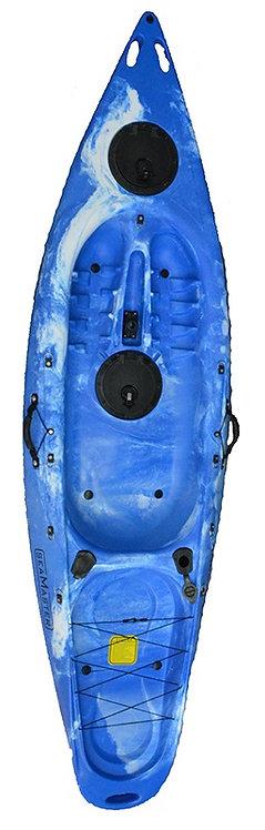 Single Kayak Odyssey 290 x 80 x 30 - 23kg, 200L
