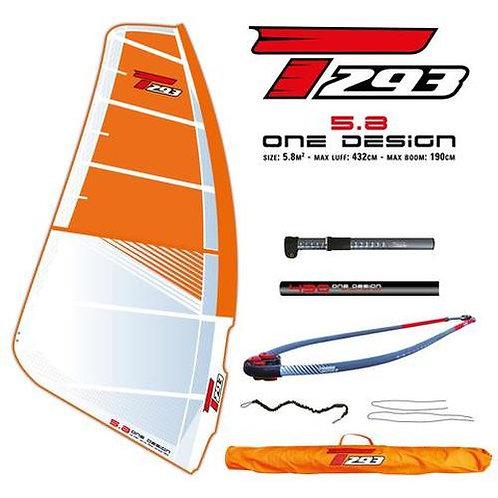 Bic Techno T293 One Design 5.8 Complete Rig