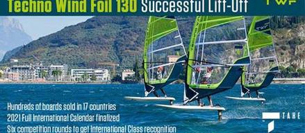 Techno Wind Foil 130 Successful Lift-Off