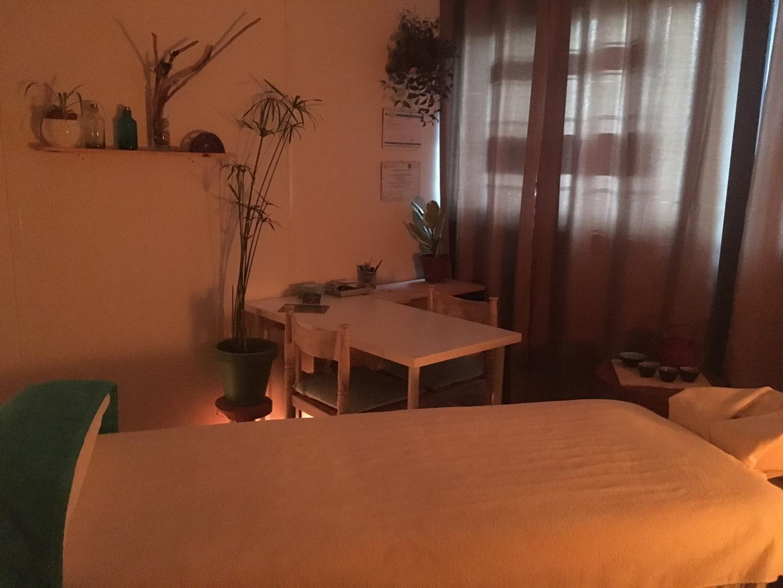 Cabine Massage bien-être