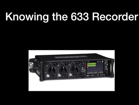 Using the 633 mixer / recorder