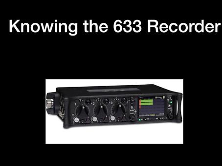 Quick Instructions: 633 Mixer/Recorder