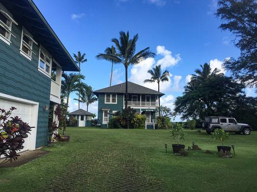 LODGING AT HONALEI BAY, KAUAI