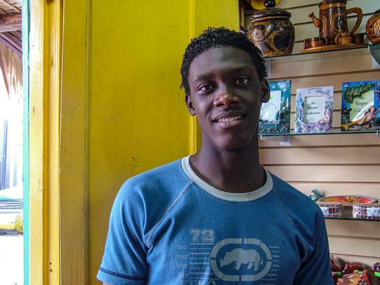 YOUNG MAN, DOMINICAN REPUBLIC