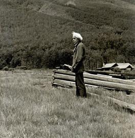 MINOR WHITE, ASPEN COLORADO, 1971