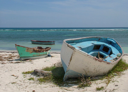 OLD FISHING BOATS, DR