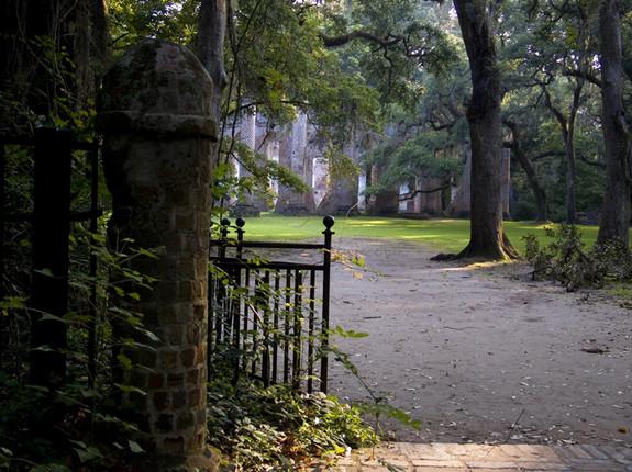 THROUGH THE GATE AT SHELDON CHURCH