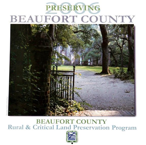 BEAUFORT COUNTY CALENDAR COVER