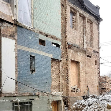 100+ yr Old Building Renovation