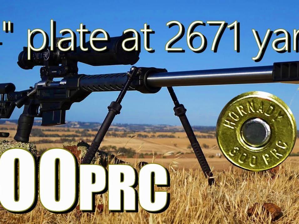 300 PRC ELR Shooting