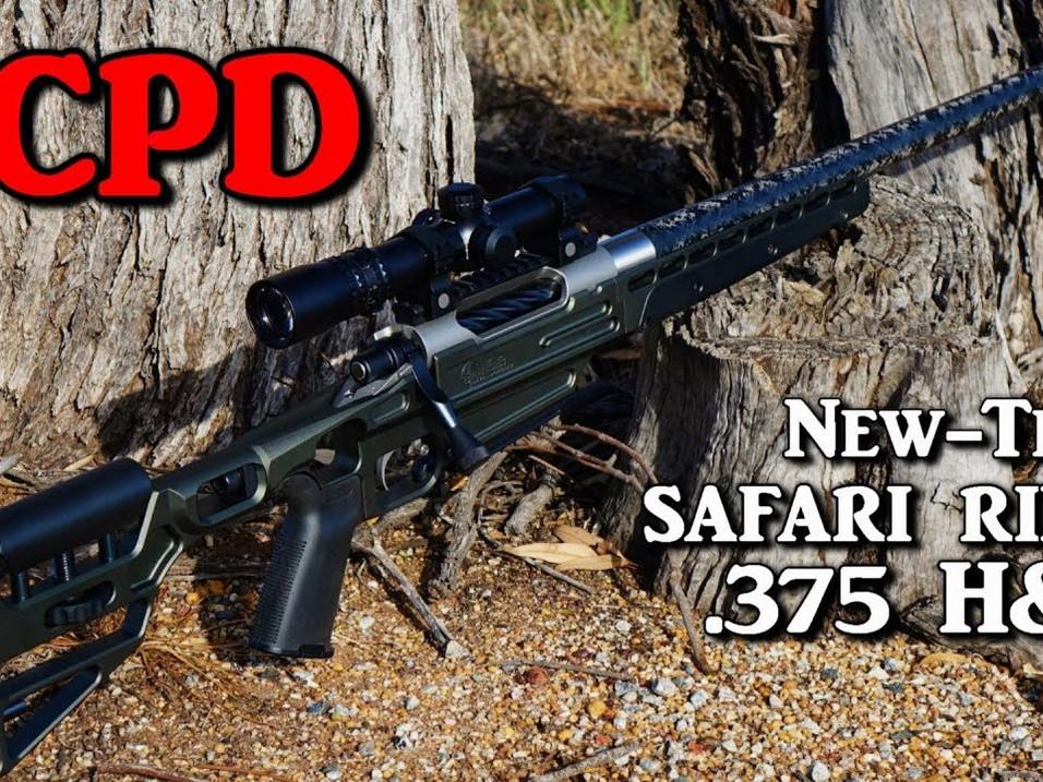 375 H&H Safari Gun