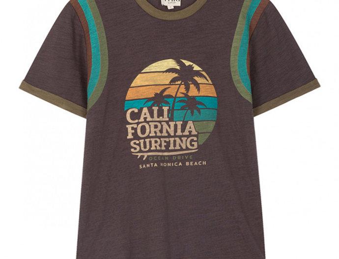 T-shirt Surfing Black