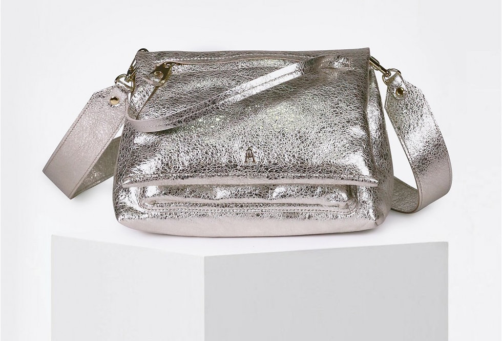 Sac besace Module spring argent