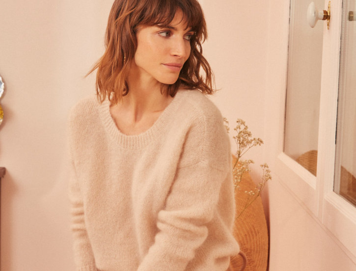 Pull Candice Beige Chiné