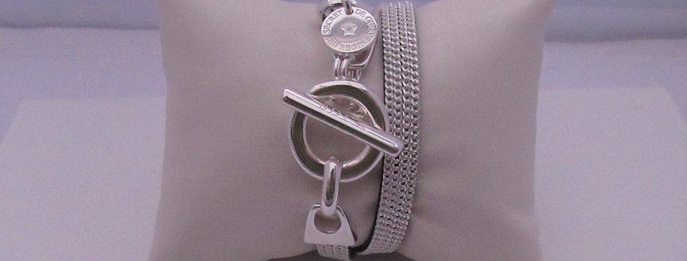 Bracelet argent chaîne