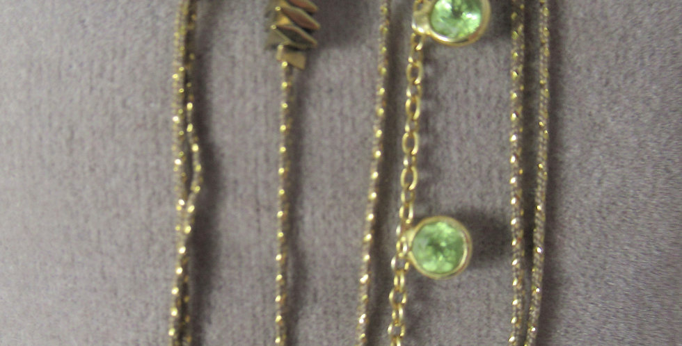 Bracelet Buzios Peridot