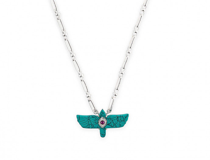 Collier Sacre Turquoise