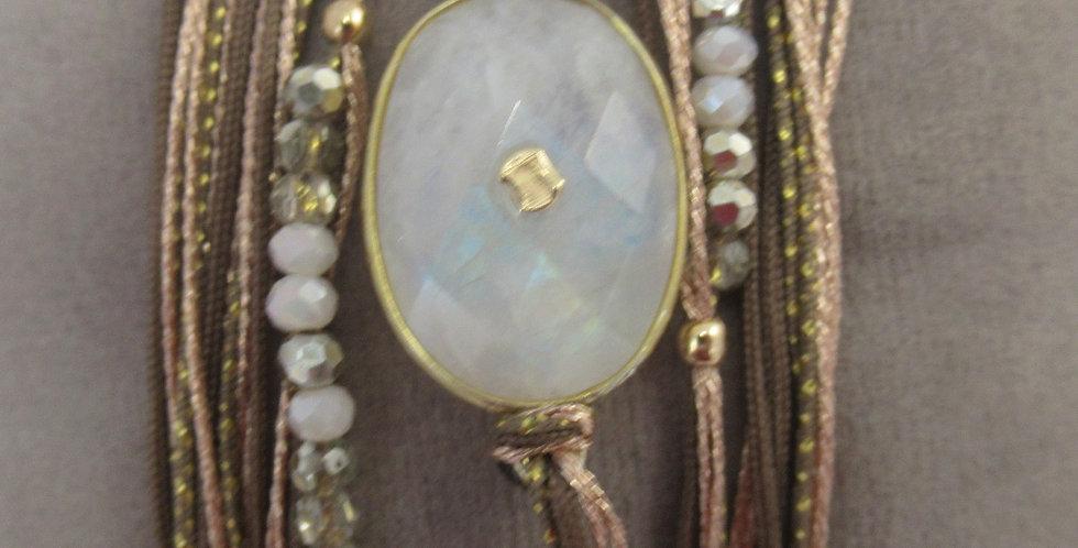 Bracelet Diva Pierre de lune