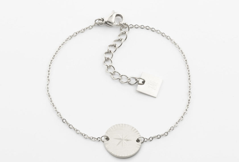 Bracelet Zag Helios Acier