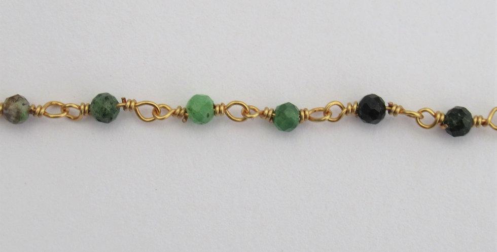 Bracelet Zag perles fines