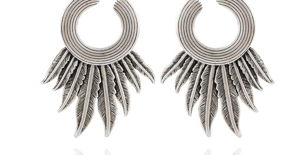 Boucles d'oreilles Caracara argent